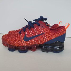 Nike Air Vapormax Flyknit 3 GS Noble Red Blue BQ52